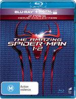 The Amazing Spider-Man / The Amazing Spider-Man 2 : Rise of Electro (Blu-ray/UV) (2 Discs) - Emma Stone