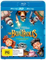 The Boxtrolls (Blu-ray/UV) - Ben Kingsley