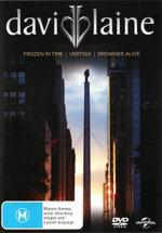 David Blaine : (Frozen in Time (2000) / Vertigo (2002 / Drowned Alive (2006) ) - David Blaine