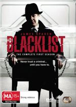 The Blacklist : Season 1 (DVD/UV) - Diego Klattenhoff