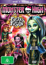 Monster High : Freaky Fusion (Blu-ray/DVD/UV) - Luis Gonzalez