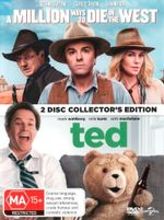 A Million Ways to Die in the West / Ted (DVD/UV) (2 Disc Collector's Edition) - Seth MacFarlane