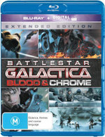 Battlestar Galactica : Blood and Chrome (Extended Edition) (Blu-ray/UV) - Lili Bordan
