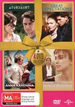 Atonement / Great Expectations  / Anna Karenina / Pride and Prejudice (Gold Ribbon Range) - Jeremy Irvine