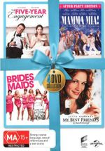 The Five-Year Engagement / Mamma Mia! / Bridesmaids / My Best Friend's Wedding (Blue Ribbon Range) - Kristen Wiig