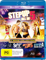 Step Up (5 Movie Collection) (Step Up 5 : All In / Step Up 4: Miami Heat / Step Up 3 / Step Up 2: The Streets/Step Up) (Blu-ray/UV) - Jenna Dewan Tatum