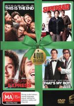 This is the End / Superbad / Pineapple Express / That's My Boy (Green Ribbon Range) - Seth Rogen