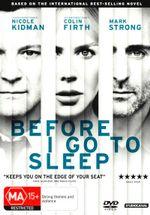 Before I Go To Sleep (DVD/UV) - Nicole Kidman