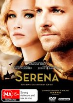 Serena  : DVD/UV - Jennifer Lawrence