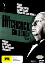The Hitchcock Collection - Volume Two - Herbert Marshall