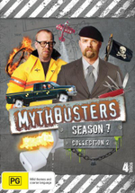 Mythbusters : Season 7 - Collection 2 (4 Discs) - Tory Belleci