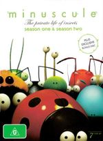 Minuscule : The Private Life of Insects - Seasons 1 - 2 (7 Discs) - Thomas Szabo