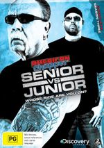 American Chopper : Senior vs Junior Season 3 - Paul Teutul Jr.