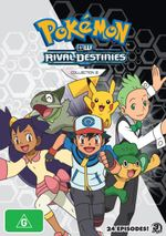 Pokemon : Season 15 - Rival Destinies - Collection 2 - Rodger Parsons