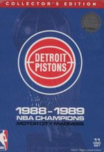 NBA : Detroit Pistons 1988-89 (Champions Box Set) (11 Discs) - Dick Stockton