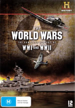 The World Wars : Complete History of WWI and WWII (12 Discs)