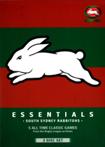 NRL Essentials : South Sydney Rabbitohs (3 Discs) - Paul Vautin