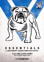 NRL Essentials : Canterbury - Bankstown Bulldogs (3 Discs) - Ray Warren
