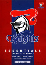 NRL Essentials : Newcastle Knights (3 Discs) - Ray Warren