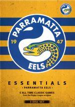 NRL Essentials : Parramatta Eels (3 Discs) - Ray Warren