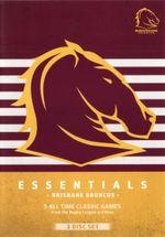 NRL : Essentials Brisbane Broncos - Greg Dowling