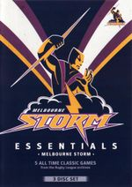 NRL : Essentials Melbourne Storm - Richard Swain