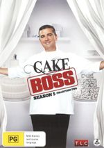 Cake Boss : Season 5 Collection 2 - Frankie Amato Jr.