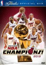 NBA : Back to Back NBA Champions 2013 - Miami Heat - The Finals - Ahmad Rashad