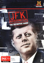 JFK Assassination : The Definitive Guide - Jonathan Adams