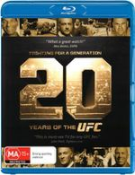 UFC : Fighting For a Generation: 20 Years of the UFC - John Lewis