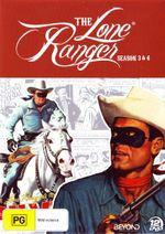 The Lone Ranger : Seasons 3 and 4 - John Hart