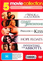 A Walk in the Clouds / Great Expectations (1998) / Hope Floats / Inventing the Abbotts / Prelude to a Kiss (5 Discs) (Romance) - Various