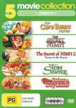 5 Movie Collection : Children's (The Care Bears Movie/The Secret of Nimh/The Secret of Nimh 2: Timmy to the Rescue/Tom Sawyer/Babes in Toyland