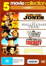 5 Movie Collection - Western (Along Came Jones / The Hallelujah Trail / Rancho Deluxe / Support Your Local Sheriff / Support Your Local Gunfighter) (5