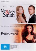 Mr & Mrs Smith / Entrapment (2 Disc Set) - Angelina Jolie