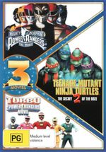 Mighty Morphin Power Rangers / Teenage Mutant Ninja Turtles 2 / Turbo : A Power Rangers Movie - Karan Ashley