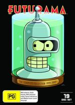 Futurama : The Complete Collection (Season 1 - 4) (1999 - 2009) - Katey Segal