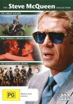 The Thomas Crown Affair (1968) / The Great Escape / The Magnificent Seven (Steve McQueen) - Yul Brynner
