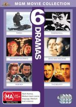 6 Movie Drama Pack : Mississippi Burning/Fargo/Dead Man Walking/Rob Roy/The Bounty/Raging Bull - Tim Roth