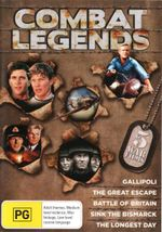 Combat Legends : (Gallipoli / The Great Escape / Battle of Britain / Sink the Bismarck / The Longest Day) - Mark Lee