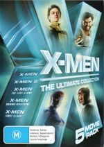 X-Men Ultimate Collection  : 5 Movie Boxset including X-Men: First Class - Sir Ian McKellan