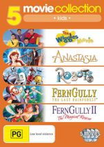 Anastasia (1997) / FernGully / FernGully 2 / Robots / The Wiggles Movie (5 Kids Movies) : The Last Rainforest / FernGully II: The Magical Rescue ) - Erik Bergmann