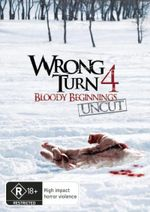 Wrong Turn 4 : Bloody Beginnings - Uncut - Tristan Carlucci