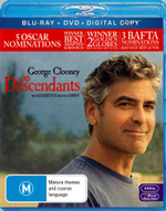 The Descendants (Blu-ray/DVD/Digital Copy) - Shailene Woodley