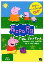 Peppa Pig : Piggy Back Pack 2 (2 Disc) - Alice May