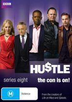 Hustle : Series 8 (2 Discs) - Kelly Adams