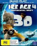 Ice Age 4 (3D Blu-ray/Blu-ray/DVD/Digital Copy (3 Discs) - Ray Ramano