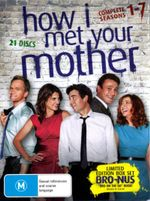 How I Met Your Mother : Seasons 1 - 7 (21 Discs) - Jason Segal