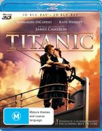 Titanic (2012 Release) (3D Blu-ray/Blu-ray) - Leonardo DiCaprio