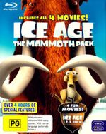 Ice Age Mammoth Pack (All 4 Movies) (4 Discs) - Ray Ramano
